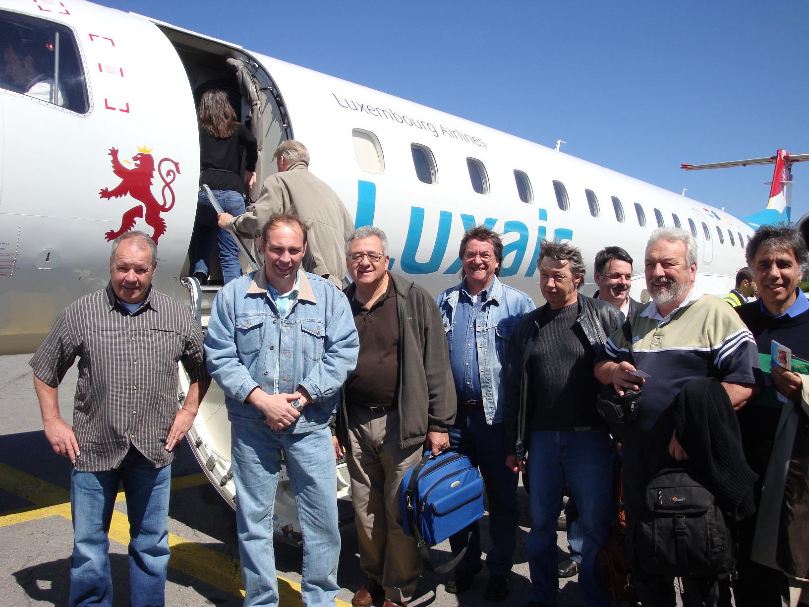 départ avion goteborg 2009